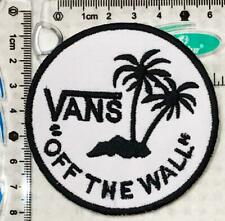 Logo of VANS off The Wall Embroidered iron on Patch