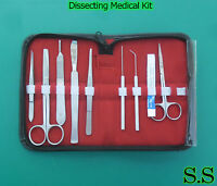 Dissecting Medical Kit (Set of 9 Pieces) DS-706