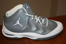 Excellent NIKE AIR JORDAN PLAY IN THESE II 2 GREY GRAY / WHITE #510581-002 Sz 13