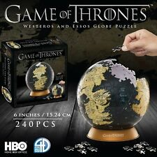 "4D Cityscape Game of Thrones 3D 6"" Globe Puzzle (240 pieces)"