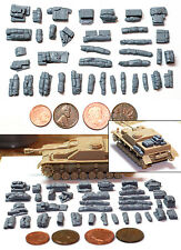 1/72 Scale Resin Tent, Tarp & Crates Stowage Set #2 - Value Gear
