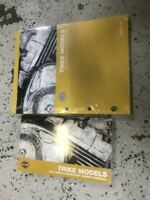 2010 Harley Davidson TRIKE FLHTCUTG TRI GLIDE Parts Catalog & Owners Manual Set