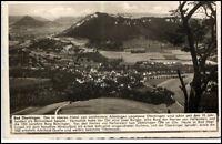 Bad Überkingen alte Postkarte ~1940 Bedarfspost gelaufen Gesamtansicht von oben