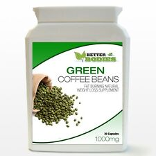 GREEN Coffee bean estratto Capsule 1000mg 50% CGA perdita di peso Dieta Bottiglia