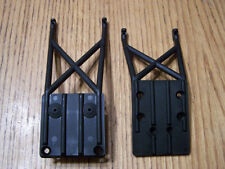 Traxxas 1/10 2wd Slash Front & Rear Skid Plates Braces /Also Fits Raptor