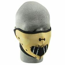 Hannibal Lecter Gimp Neoprene Half Face Mask Motorcycle Biker Costume Party ATV