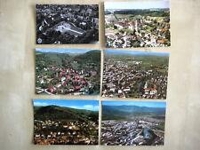 Lot Sammlung Luftbild-Aufnahmen Deutschland 6 Stück ua. Ottobeuren, Kehl uvm.