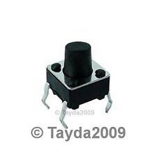 15 x Tact Switche 6*6mm 7mm 50mA Through Hole SPST-NO
