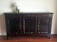 SIDEBOARD A French Louis XV Style Rustic Oak Enfilade Buffet j116