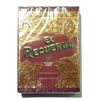 El Recuerdo Muertos Playing Cards Mexican Deck Red Edition