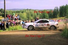 Marcus Gronholm Toyota Celica Turbo 4WD 1000 Lakes Rally 1993 Photograph 2