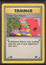 Pokemon GOOP GAS ATTACK 78/82 1st Edition Team Rocket - - MINT