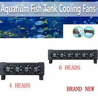 12v Aquarium Fish Tank Cooling Fans Tropical/Marine 4 or 6 Heads AU Store