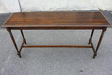 Mahogany English Regency Hallway Table Antique 1930 Refinished