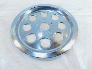 Harley Davidson Dyna Super Glide Wide Glide Low Rider Chrome Rear Sprocket Cover