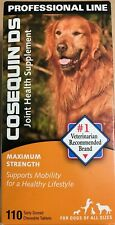 COSEQUIN DS JOINT HEALTH SUPPLEMENT MAXIMUN STRENGHT 110 CHEWABLE TABLETS