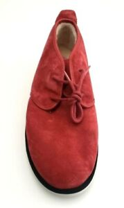 UGG Men's Maksim Suede Fully Lined Chukka Ankle Boots Red Size 14, 16, 17, 18