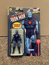 2021 Marvel Legends Retro 3.75? Wave 4 Iron Man Stealth Armor In Hand!