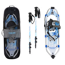 Yukon Charlie's Advanced 8 x 25 Inch Women's Snowshoe Kit with Poles and Bag