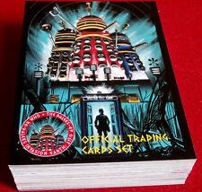 DR WHO & THE DALEKS, COMPLETE BASE SET (54 cards) - Unstoppable 2014