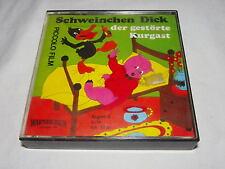 SUPER 8 FILM Schweinchen Dick - Der gestörte Kurgast s/w Piccolo Film ca.17m