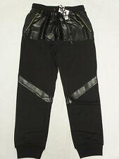 $89 NWT Mens LRG L-R-G Monolith Sweatpants Joggers Pants Black Urban Size S M606