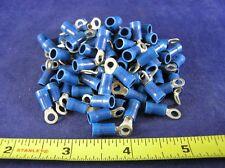 AMP 323676 BLUE VINYL RING, 16-14 AWG, #6 screw (1 pkg of 100)