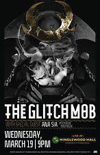 THE GLITCH MOB / ANA SIA / PENTHOUSE PENTHOUSE 2014 MEMPHIS CONCERT TOUR POSTER