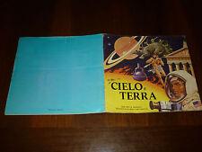 ALBUM FIGURINE CIELO E TERRA Ed. IMPERIA 1975 SEMI COMPLETO - OTTIMO ++ !!