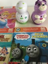 LEAPFROG LEAP FROG JUNIOR TAG PEN READING 3 Books Interactive Scout Violet