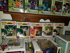 My hero academia funko pop lot