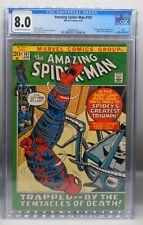 CGC 8.0 Marvel Comics AMAZING SPIDER MAN #107 Spider Slayer STAN LEE John Romita
