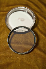 B+W 67e 010 1x Filter Brass w/Case in Excellent Condition