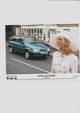 ROVER 100 ASCOT SE SPECIAL EDITION PRESS PHOTO 'SALES BROCHURE' CONNECTED