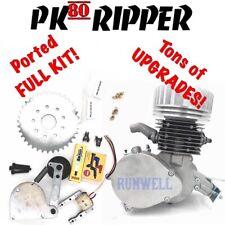 Pk80 Ripper full Kit, 66/80cc Motorized Bicycle, Runwell, Upgrades! Fast!