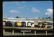 Original Slide Spencer Streamliners: B&O/C&NW/Pan AM/SOU/EMD/C&O F units