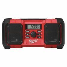 "Milwaukee 2890-20 M18â""¢ 18V Wireless Weatherproof Jobsite Radio & Device Charger"