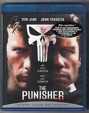 Blu-ray THE PUNISHER Non esiste giustizia esiste solo la vendetta JANE, TRAVOLTA