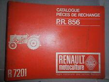 Renault tracteurs R7201 - Super 2D: catalogue pièces PR856