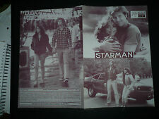 STARMAN, orig Austrian Film program [Jeff Bridges, Karen Allen] John Carpenter