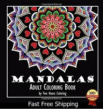 Free 2 Day Shipping Coloring Book Adults Designs Mandala Beautiful Relax Pattern