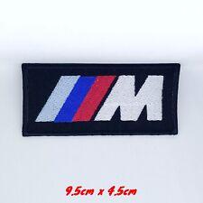 BMW M3 Serie Auto Rennen Bestickt Zum Aufbügeln Aufnäher #1311