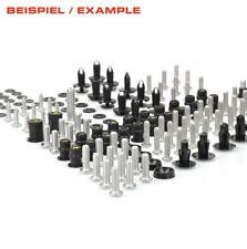 KAWASAKI ZX-6R SET VIS COMPLET visser acier inoxydable 03>>04 RACEFOXX