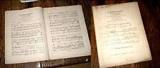 duo piano chant du Maître de Chapelle de Paer arrangée par Mme Gay 1842