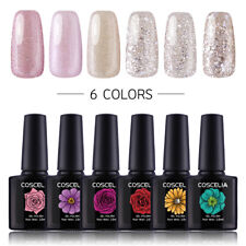 Lot de 6pc Vernis Semi-permanent Gel Polish Vernis à ongles Nail Art Kit #1413
