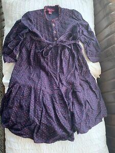 April Cornell Dress Polkadot Girls 3/4
