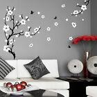 Plum Blossom Tree Flower Wall Stickers Vinyl Art Decals Living Room Bedroom