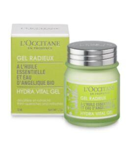 L'Occitane En Provence Angelica Hydra Vital Gel For Instant 24h Hydration 1.7 oz