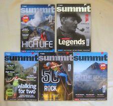 SUMMIT Climbing Magazine Job Lot x 5