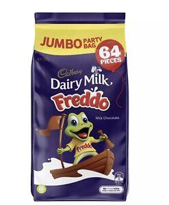 64 x Cadbury Freddo Frogs 15g Jumbo Party Pack